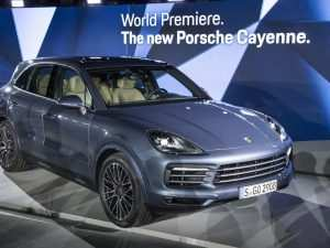 59 All New 2019 Porsche Cayenne Standard Features Redesign and Review