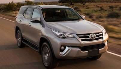 59 All New Toyota Fortuner Facelift 2020 India First Drive