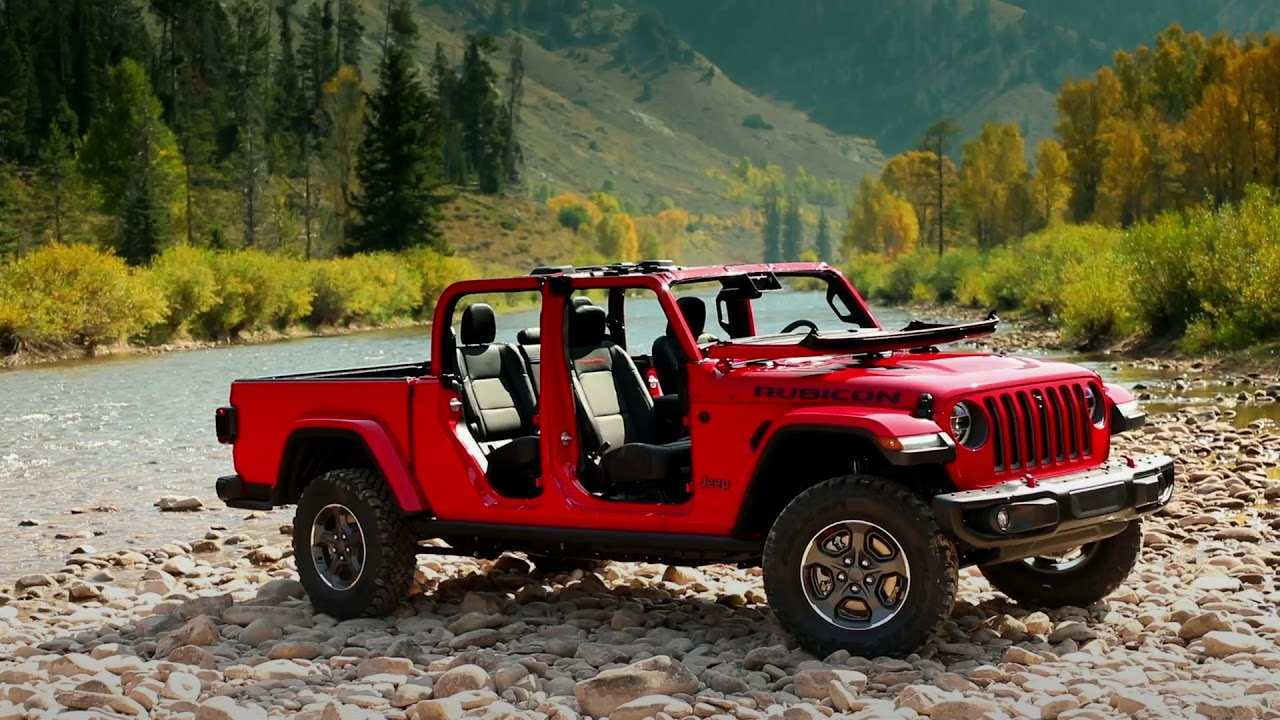 59 Best Jeep Rubicon Truck 2020 Redesign And Concept