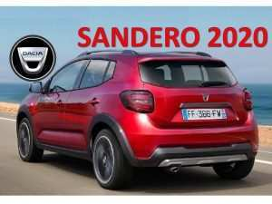 59 The Best Dacia Sandero 2020 Spy Shoot