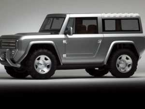 Ford Bronco 2020 Uk