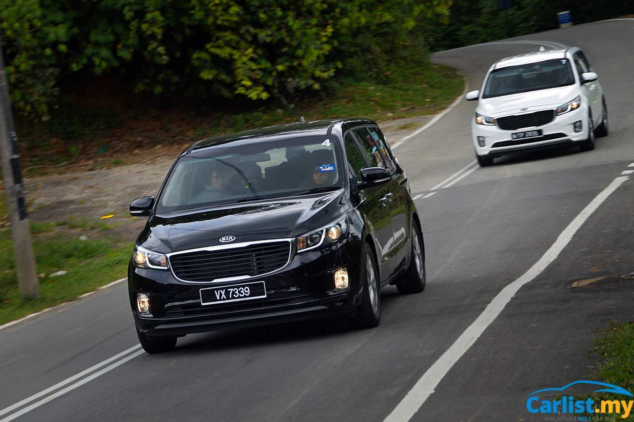 59 The Best Kia Grand Carnival 2019 Review Spy Shoot