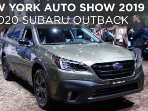 New York Auto Show 2020 Subaru