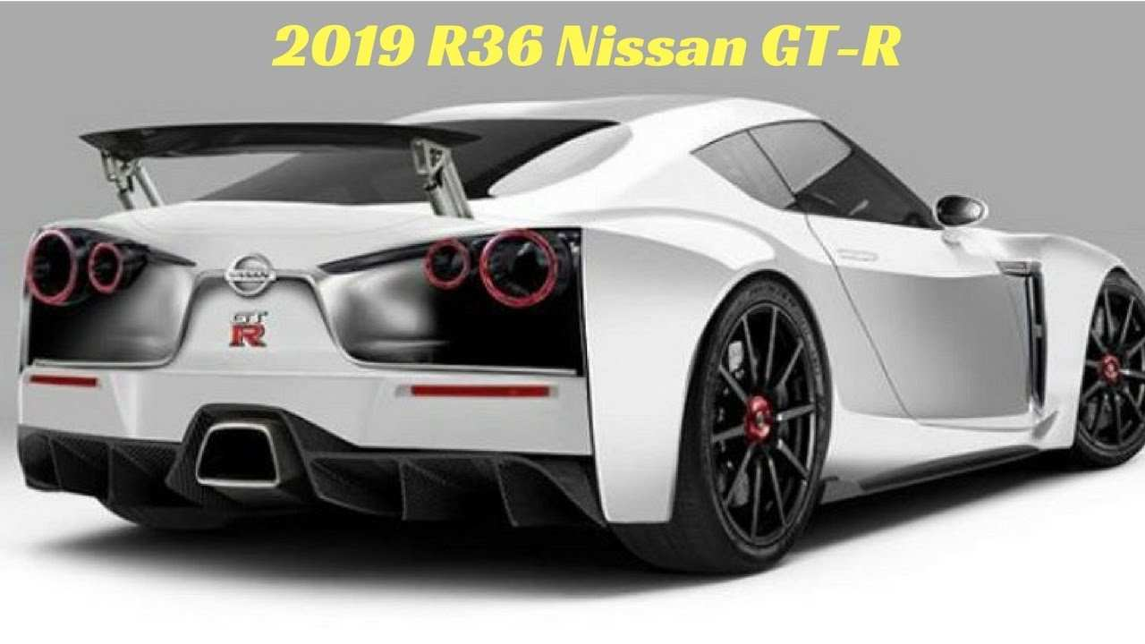 60 All New 2019 Nissan Gtr R36 Review And Release Date