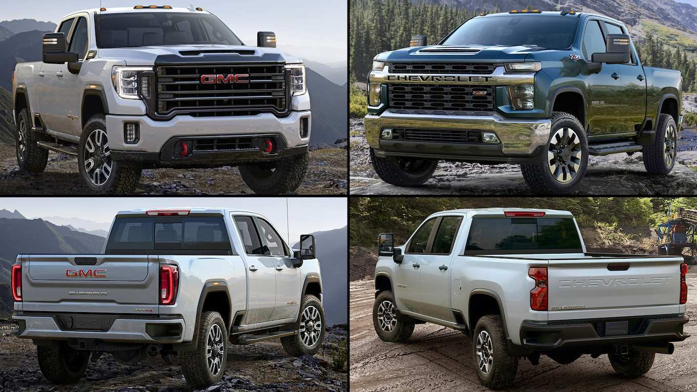 60 All New 2019 Vs 2020 Gmc Sierra Hd New Model And Performance
