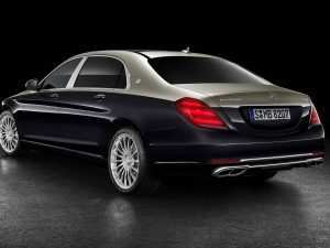 60 The 2019 Mercedes Maybach S650 Picture