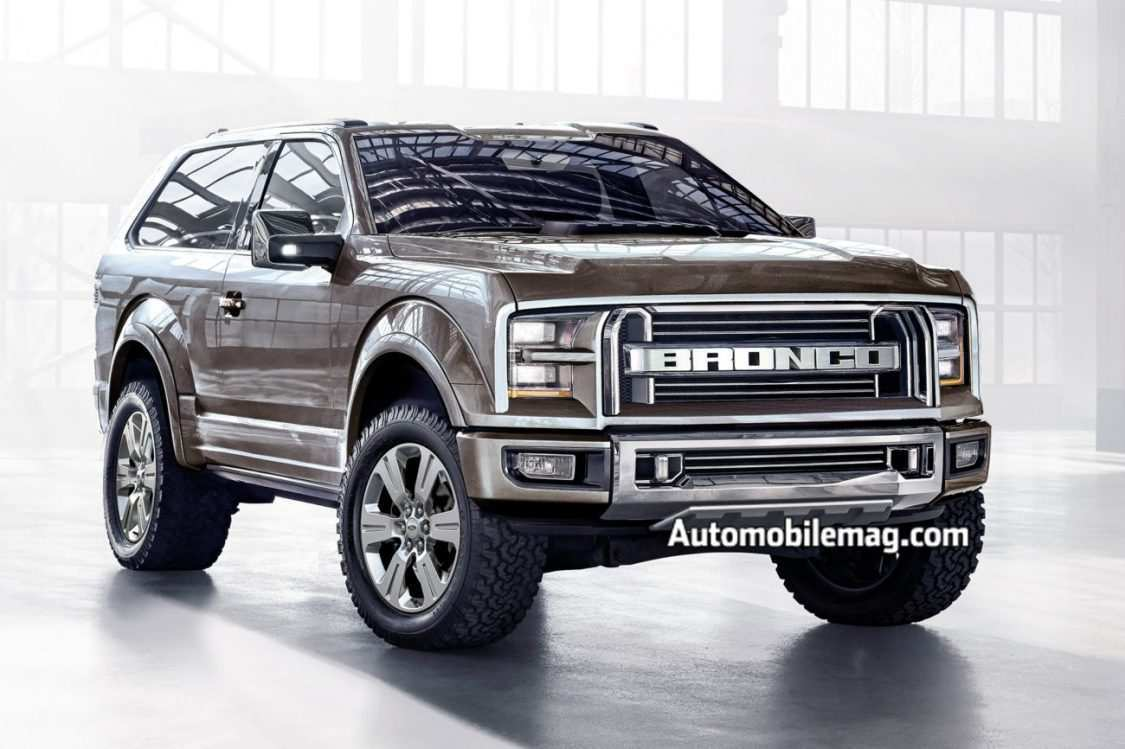 60 The 2020 Ford Bronco Wallpaper Concept