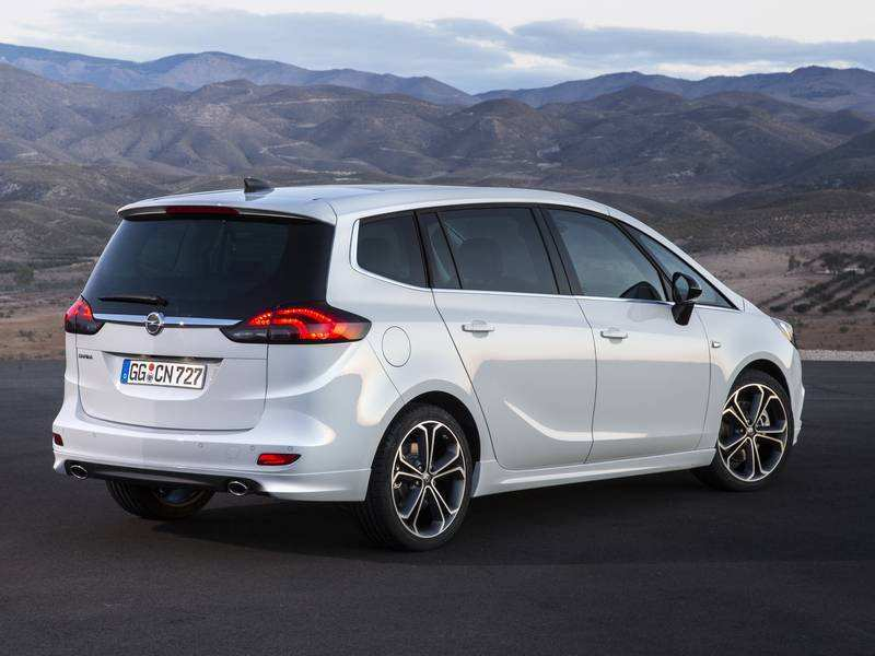 60 The Opel Zafira 2019 Concept And Review