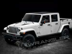 61 A Jeep Wrangler Pickup 2020 Review and Release date