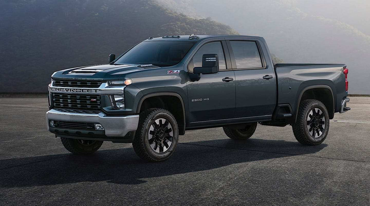 61 New 2020 Chevrolet Truck Images Engine