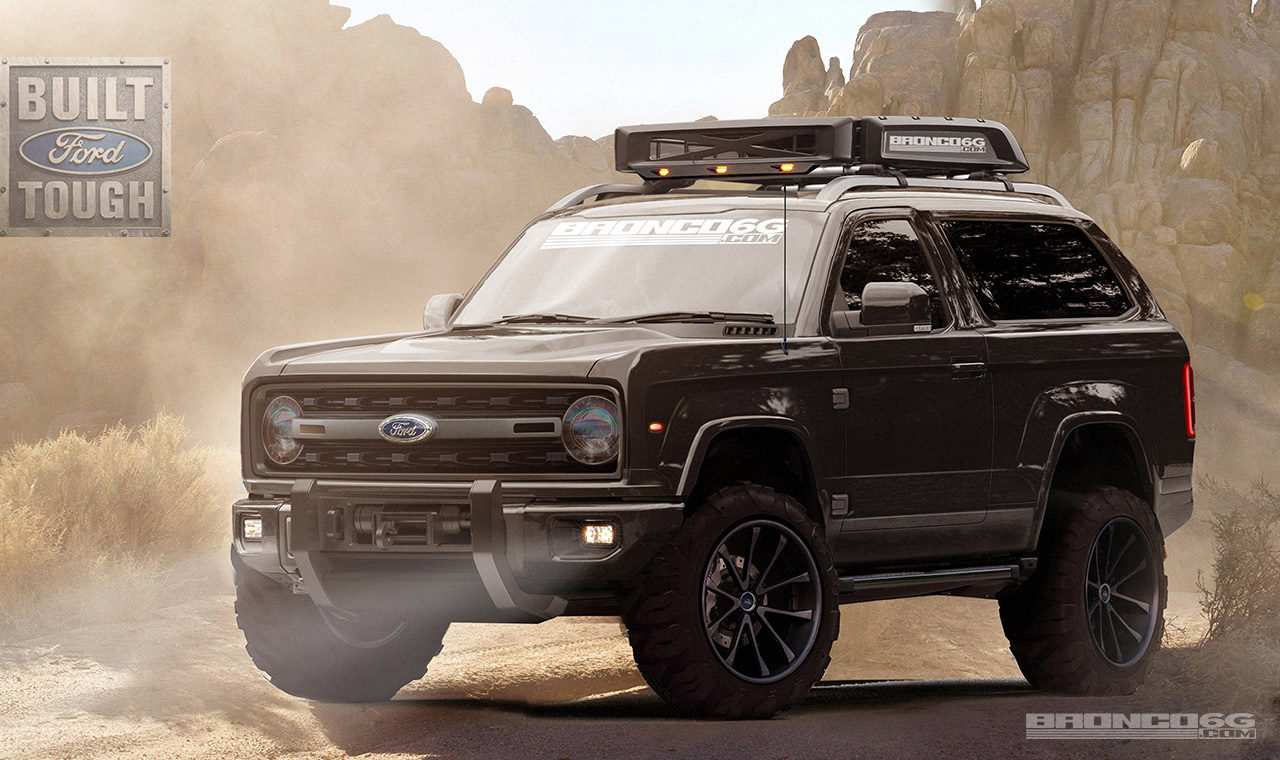 61 New Build Your Own 2020 Ford Bronco Style