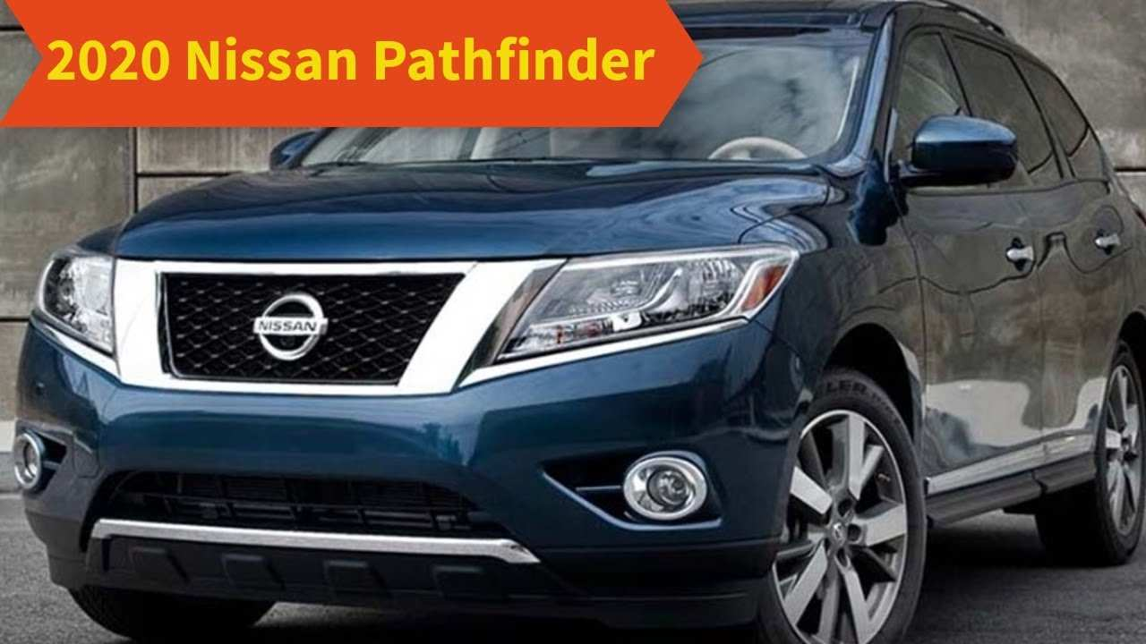 61 New When Will The 2020 Nissan Pathfinder Be Available Exterior