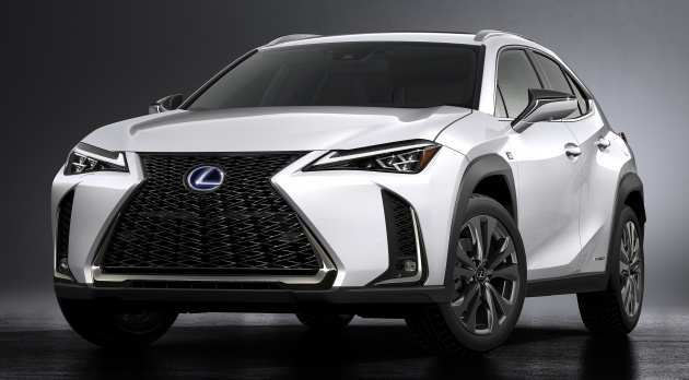 61 The 2019 Lexus Ux Hybrid New Review