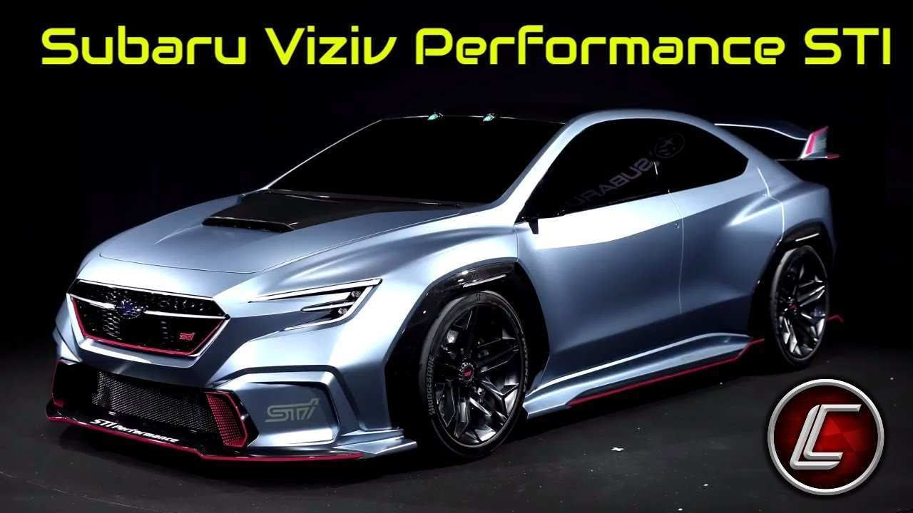 61 The Best Subaru Viziv Sti 2020 Specs