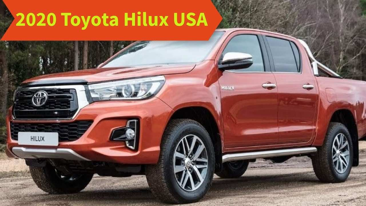 61 The Best Toyota Hilux 2020 Performance And New Engine
