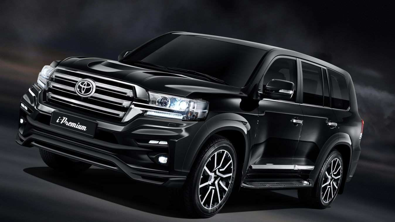 62 A 2019 Toyota Land Cruiser 300 Series Redesign