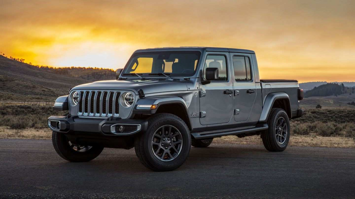 62 A 2020 Jeep Gladiator Color Options Spy Shoot