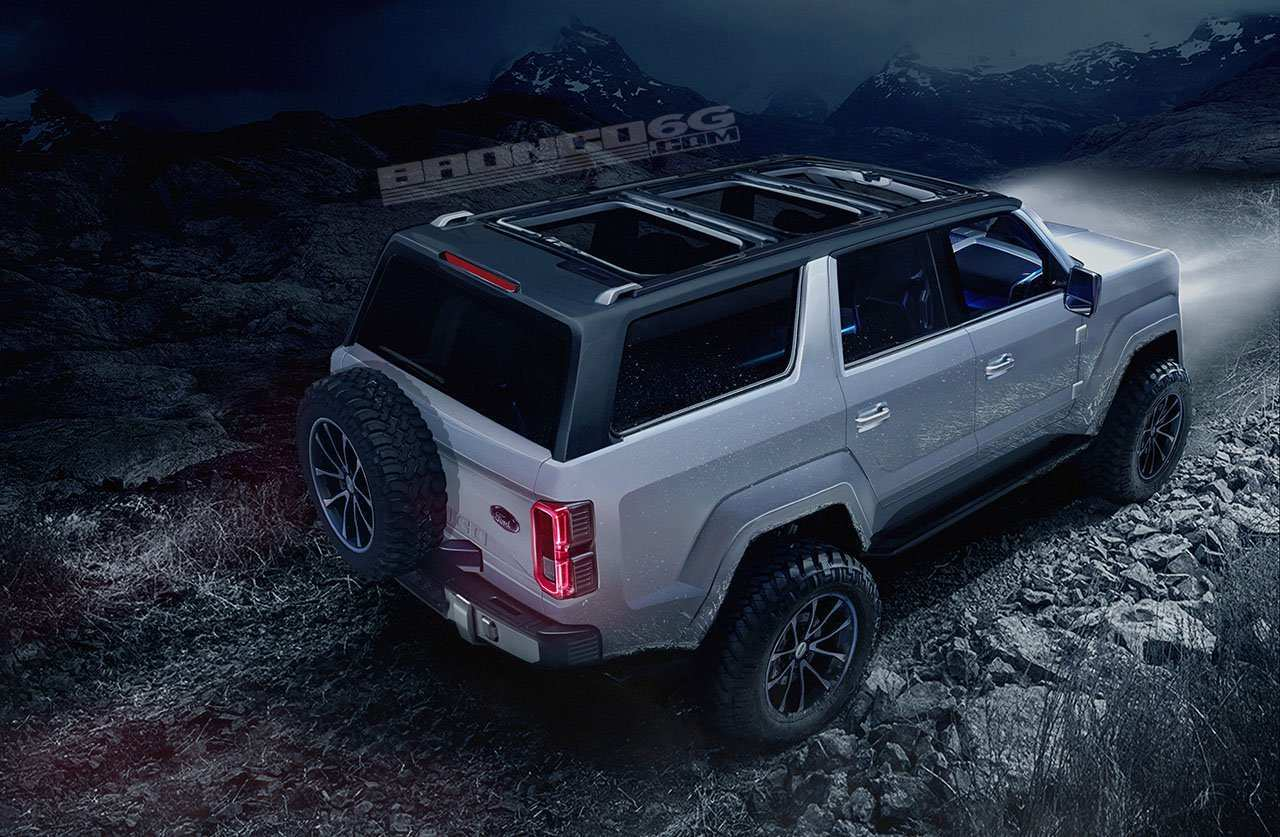 62 A Ford Bronco 2020 4 Door Spesification