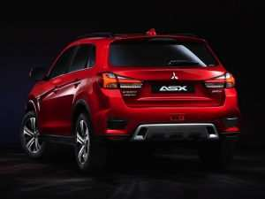 62 A Mitsubishi Asx 2020 Km77 Spy Shoot