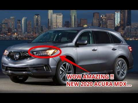 62 All New Acura Mdx 2020 Concept
