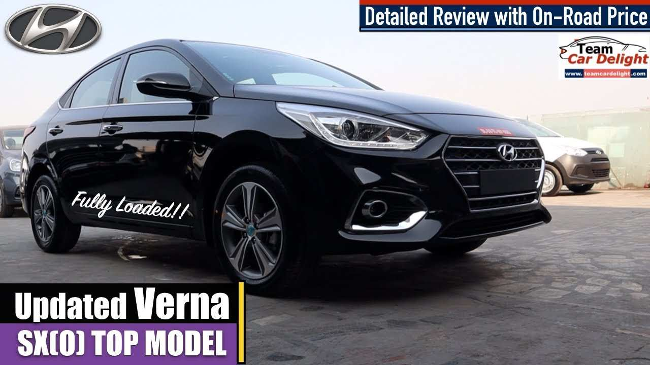 62 All New Hyundai Verna 2020 Model Redesign And Review