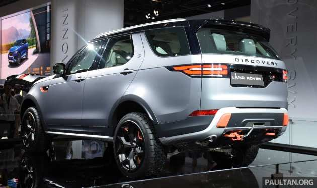 62 New 2019 Land Rover Discovery Svx Release Date And Concept
