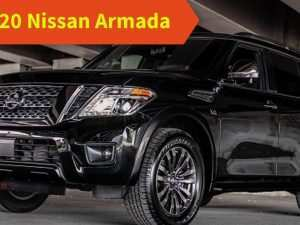 62 New Nissan Armada 2020 Redesign and Concept