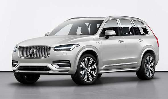 62 The Volvo Xc90 2020 Update Concept And Review