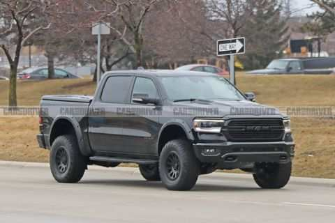 63 A Dodge Ram Rebel 2020 Exterior And Interior