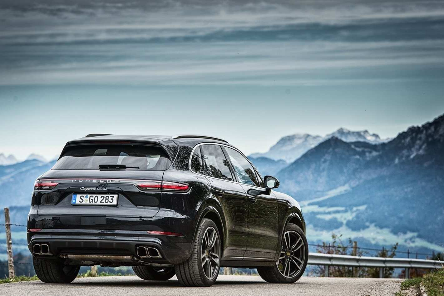 63 All New 2019 Porsche Cayenne Turbo Review Exterior