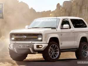 63 All New 2020 Orange Ford Bronco Concept and Review