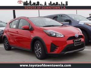 63 The 2019 Toyota Prius C Redesign and Concept