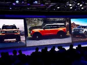 64 A 2020 Mini Bronco Exterior and Interior