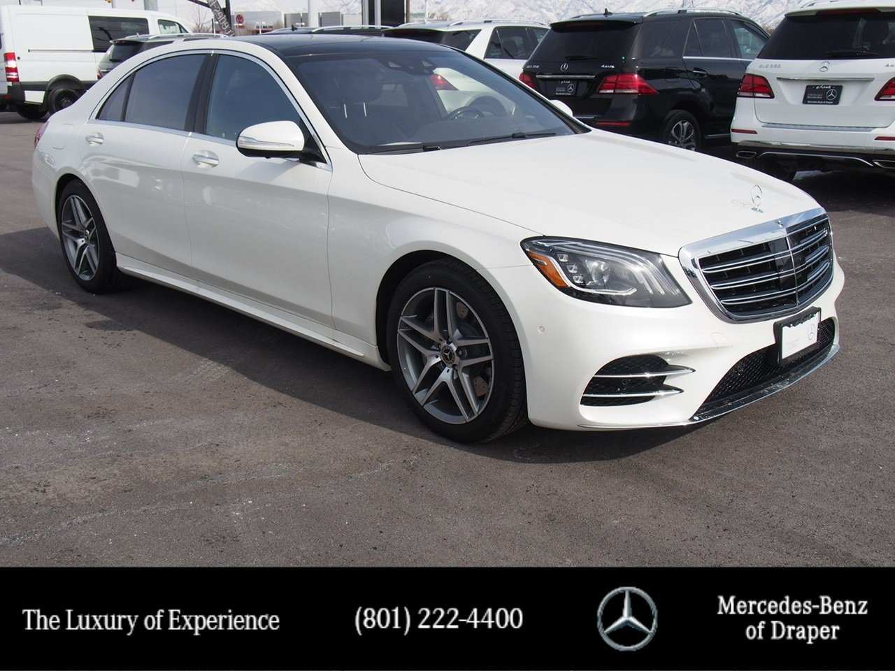 64 A S560 Mercedes 2019 Pictures
