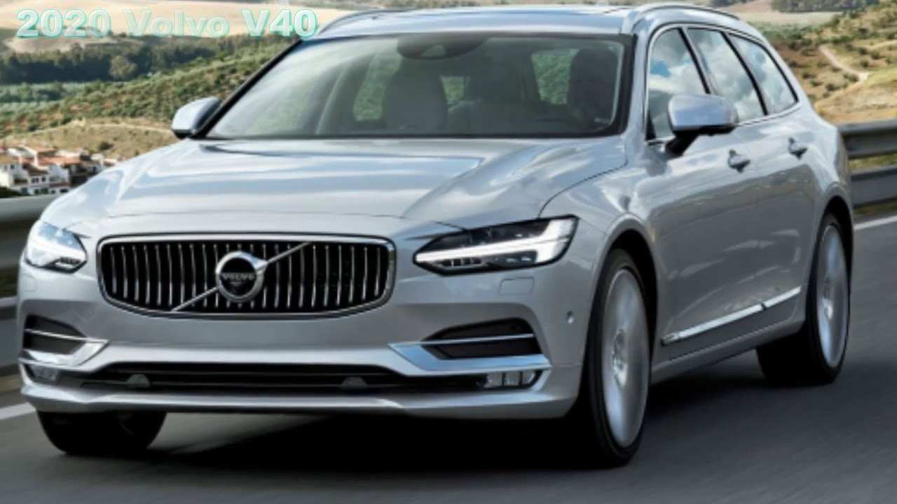 64 A Volvo New V40 2020 Redesign and Concept