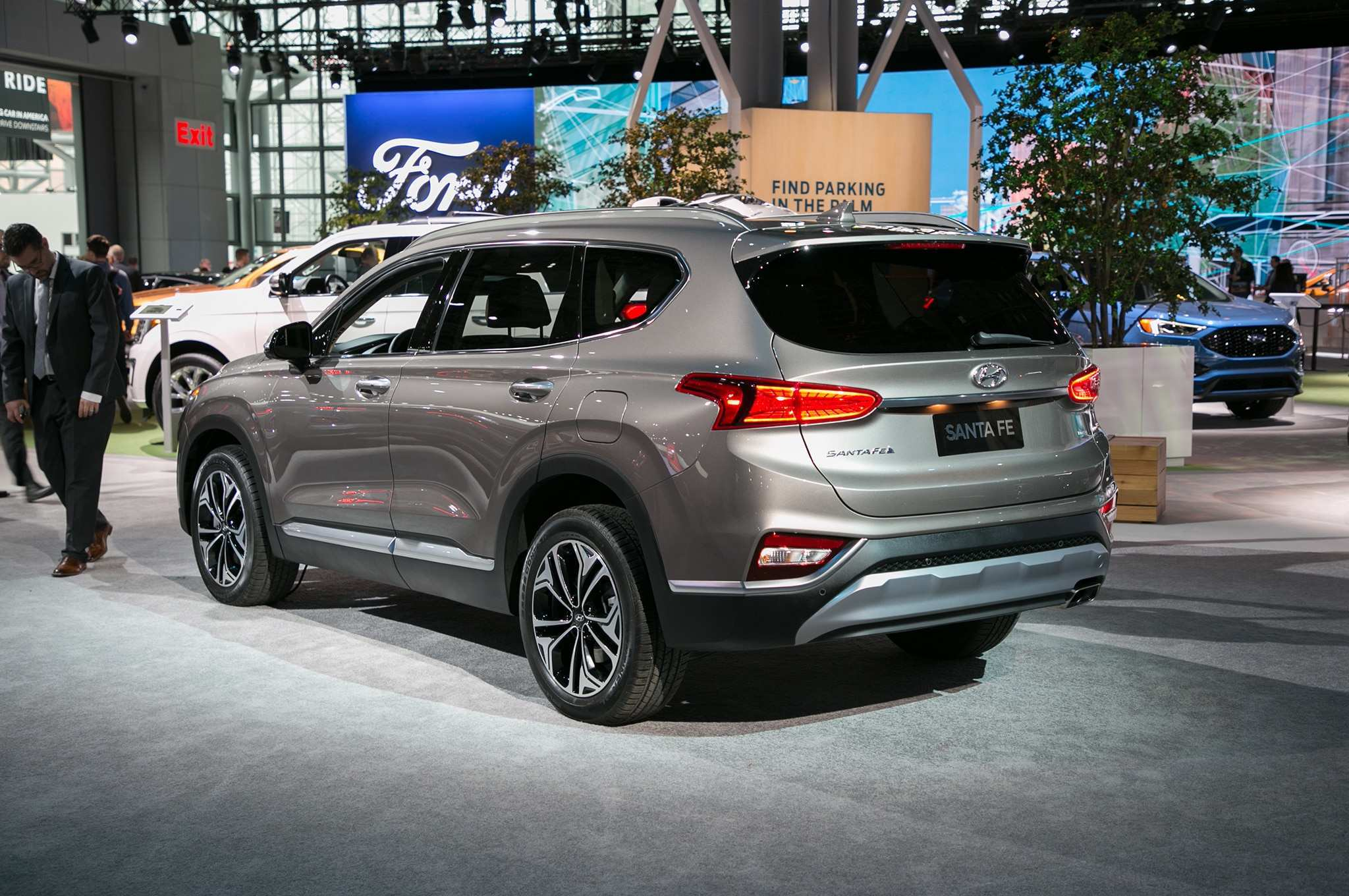 64 All New 2019 Hyundai Santa Fe Engine Pictures