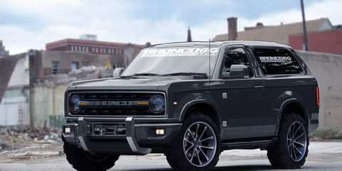 64 All New 2020 Ford Bronco 4 Door Interior