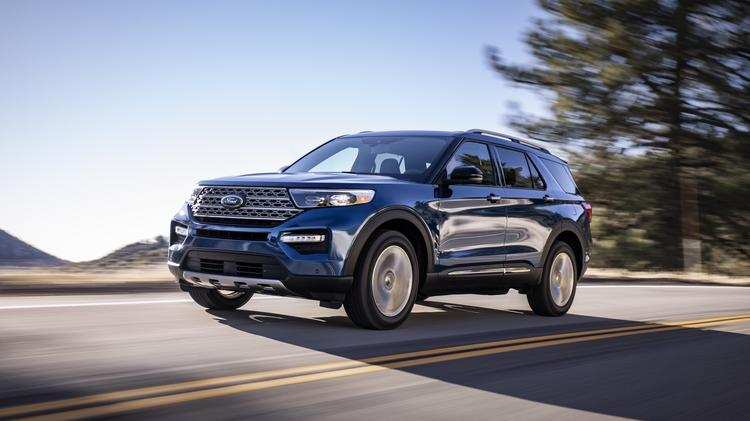 64 All New 2020 Ford Explorer Design Redesign And Review