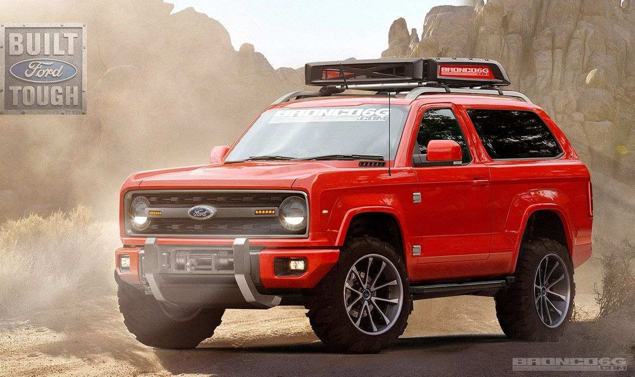 64 New 2019 Dodge Bronco Redesign