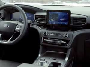 Ford Explorer 2020 Interior