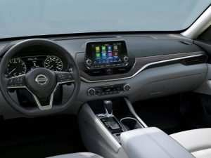 2020 Nissan Altima Interior