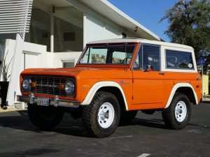 65 A 2020 Orange Ford Bronco Release Date and Concept