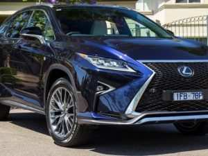 When Will The 2020 Lexus Rx Be Released