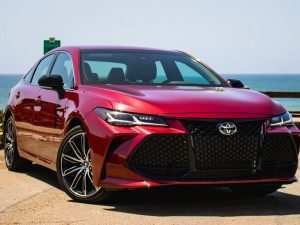 65 New 2019 Toyota Avalon Review Release Date