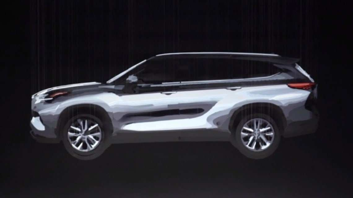 65 New 2020 Toyota Kluger Picture