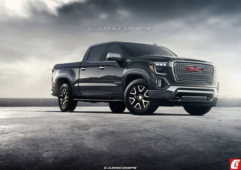 65 The Best 2019 Gmc Sierra Rendering Price And Release Date