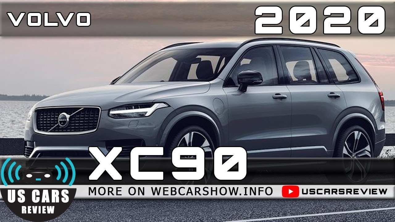 65 The Best 2020 Volvo Xc90 Redesign And Concept