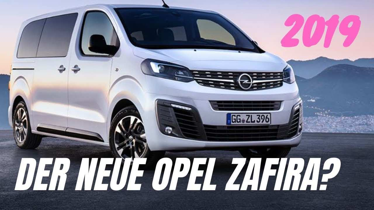 65 The Best Opel Zafira 2019 Redesign And Review