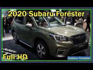 66 New New Generation 2020 Subaru Forester Exterior
