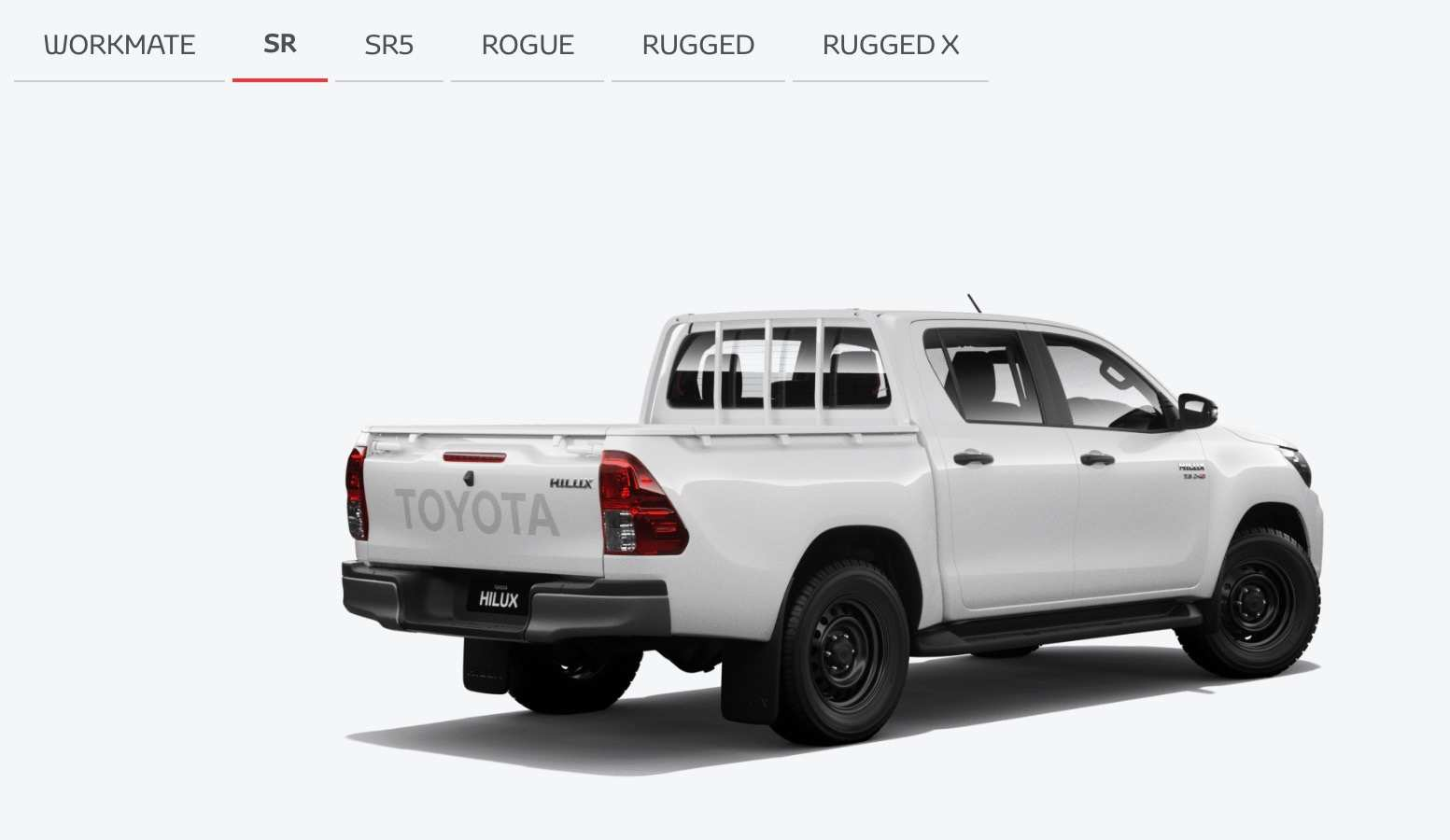 66 The 2019 Toyota Hilux Facelift Spy Shoot